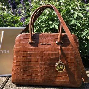 $328 Michael Kors Houston Handbag MK Purse Bag